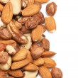 Nuts background — Foto de stock #8333861