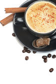 Cup of cappuccino — Stock Photo