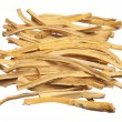 Cut dried root — Stock Photo