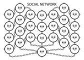 Service de réseau social — Vecteur
