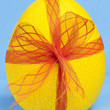 Stock Photo: Easter Egg with ribbon