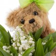 Flowers for mum! - Stock Photo