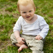 Royalty-Free Stock Photo: Baby on grass