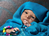 Cute Ethnic Baby — Stock Photo