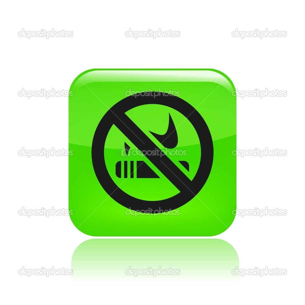 Vector illustration of forbidden smoking single icon — Stock Vector #8817052
