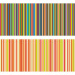 Vector illustration of vintage colored strips background - Stock Vector