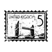 Vector illustration of single UK icon — Stock Vector