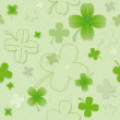 Four Leaf Clover Pattern — Stock Photo
