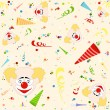 Happy Birthday Pattern — Stock Photo