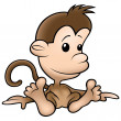 Small Monkey — Stock Photo #8524845