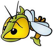 Flygande bugg — Stockfoto