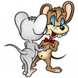 Dancing Mouses — Stock Photo