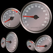 Speedometer — Stock Photo #9992871