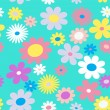 Color flowers. - Stock Vector