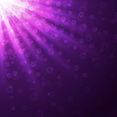 Purple rays — Stock Vector