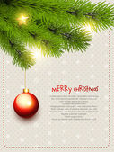 Merry christmas design — Vettoriale Stock