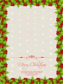 Christmas borders — Vettoriale Stock