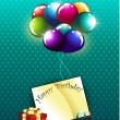Birthday — Vector de stock #8107395