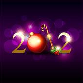 Vector 2012 happy new year hintergrund — Stockvektor