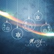Merry christmas background — Stock Vector #8200582