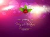 Wesołych świąt bożego narodzenia ilustracja — Wektor stockowy