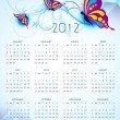 Royalty-Free Stock Vector Image: New year calender