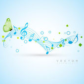 Music vector design — Stock Vector