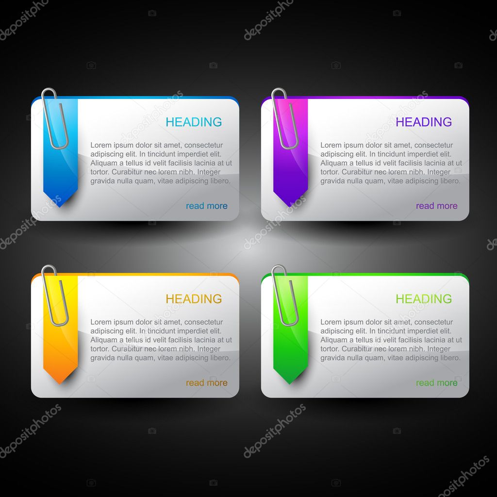 Vector set of web elements — Stock Vector #8758714