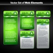 Web display banner — Stockvectorbeeld