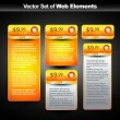 banner Web — Vector de stock