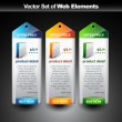 Web banner — Stockvectorbeeld