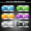 Vector de stock : Shiny product display