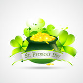 St. patricks day illustration — Stock Vector