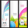 Set of easter banner — Stock Vector