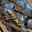 Eiffel Tower detail - Stock Photo