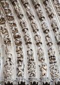 Katedrála notre dame - paříž — Stock fotografie