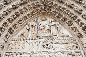 Notre Dame Cathedral - Paris — Stock Photo