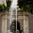 Dragons fountain, Villa d'Este - Tivoli — Stock Photo