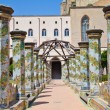 Santa Chiara Monastery - Naples - Stock Photo