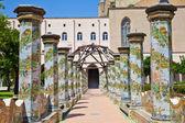 Santa Chiara Monastery - Naples — Stock Photo
