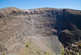 Vesuvius crater — Stock Photo