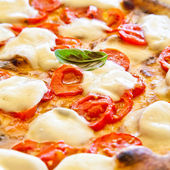 Pizza in Naples — Stock Photo