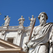 Vatican Statues — Stock Photo