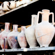 Stock Photo: old amphoras