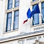 Paris - Sorbonne University Entrance — Stock Photo #8626130