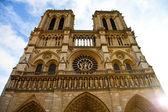 Catedral de notre dame - paris — Foto Stock