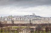 Tempest on Montmartre — Stock Photo