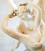 Psyche revived by Cupid kiss — Стоковое фото