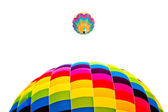 Brand ballon — Stockfoto