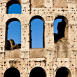Colosseum with blue sky — Stock Photo #9582810